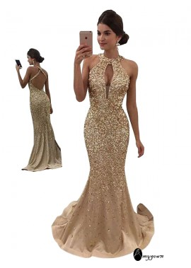 AmyGown Mermaid Long Prom Evening Dress T801524703700