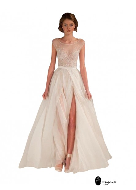 AmyGown 2021 Long Prom Evening Dress T801524704073