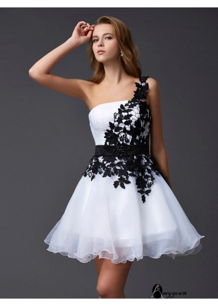 AmyGown Short Homecoming Prom Evening Dress T801524710362