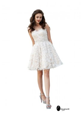 AmyGown Short Homecoming Prom Evening Dress T801524706077