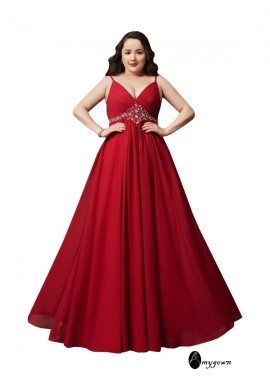 AmyGown Plus Size Prom Evening Dress T801524705570