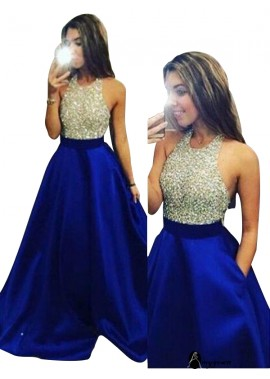AmyGown 2021 Long Prom Evening Dress T801524702337