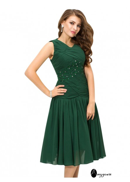 AmyGown Short Homecoming Prom Evening Dress T801524706714