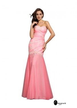 AmyGown Sexy Mermaid Prom Evening Dress T801524708394