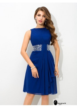 AmyGown Short Homecoming Prom Evening Dress T801524710599