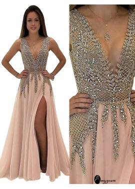 AmyGown Long Prom Gown Evening Dress T801524702329