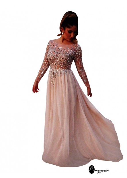 AmyGown Long Prom Evening Dress T801524703800