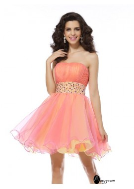 AmyGown Sexy Short Homecoming Prom Evening Dress T801524710637