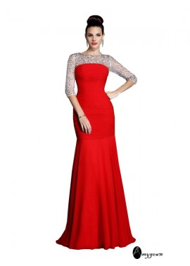 AmyGown Sexy Mermaid Prom Evening Dress T801524705236