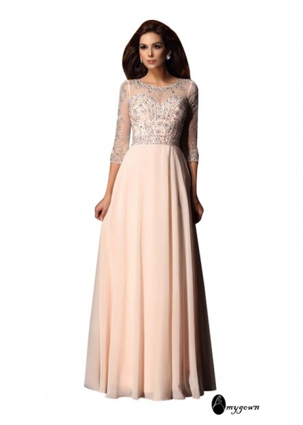 AmyGown Sexy Long Prom Evening Dress T801524704113