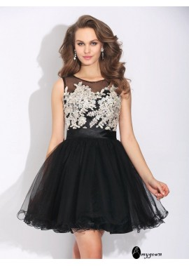 AmyGown Sexy Short Homecoming Prom Evening Dress T801524710519