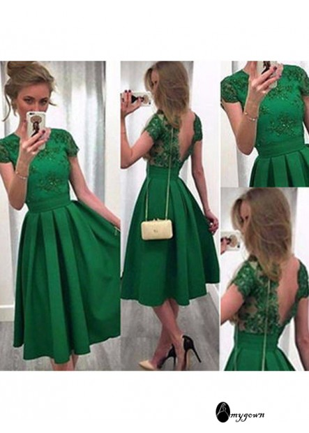 AmyGown Short Homecoming Prom Evening Dress T801524710257