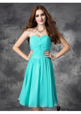 AmyGown Short Homecoming Prom Evening Dress T801524711023
