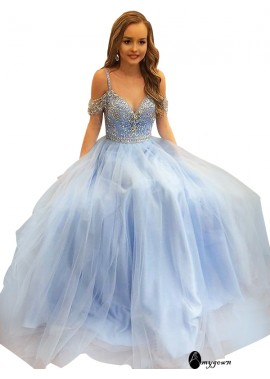 AmyGown Long Prom Evening Dress T801524703837