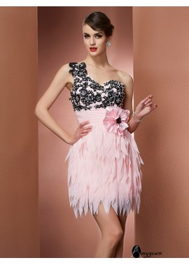 AmyGown Short Homecoming Prom Evening Dress T801524711104