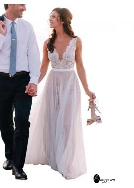 AmyGown 2020 Beach Wedding Dresses T801524714639