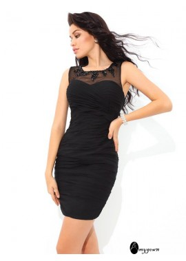 AmyGown Sexy Short Homecoming Prom Evening Dress T801524710350