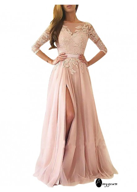 AmyGown Long Prom Evening Dress T801524703858