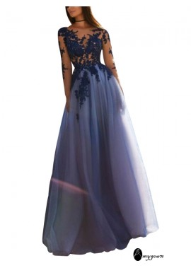 AmyGown Sparkly Long Prom Evening Dress T801524703628