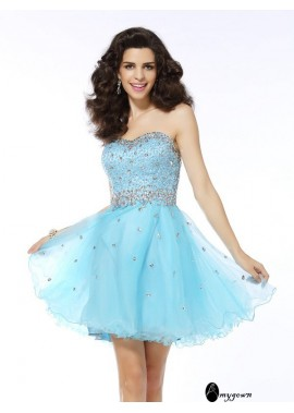 AmyGown Sexy Short Homecoming Prom Evening Dress T801524710873