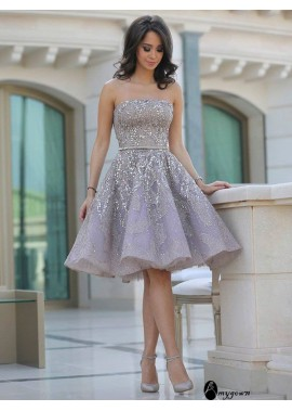 AmyGown Short Homecoming Prom Evening Dress T801524710155