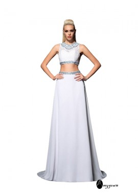 AmyGown Two Piece Long Prom Dress T801524708376