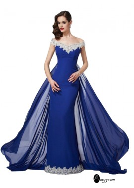 AmyGown Mermaid Long Prom Evening Dress T801524705061
