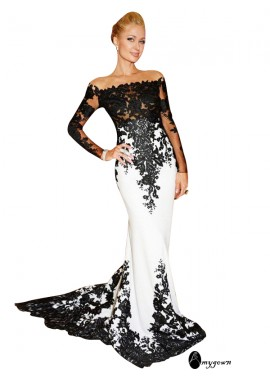 AmyGown Mermaid Long Prom Evening Dress T801524704054