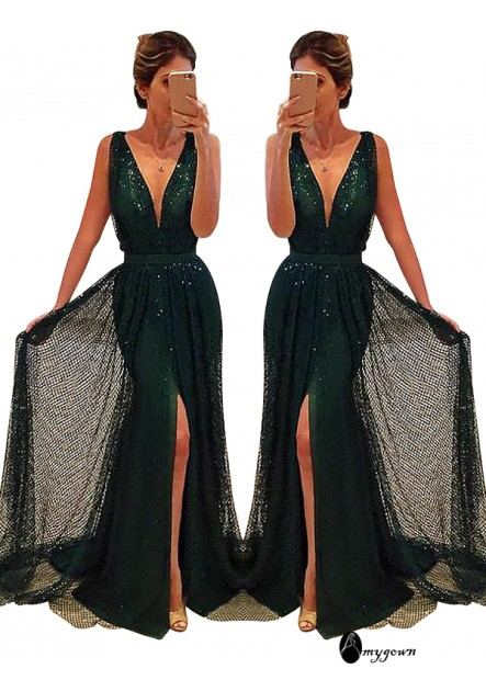AmyGown Long Prom Evening Dress T801524705047