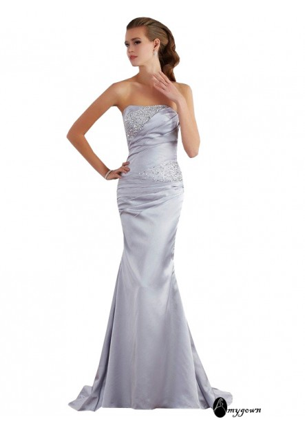 AmyGown Mermaid Long Prom Evening Dress T801524705902