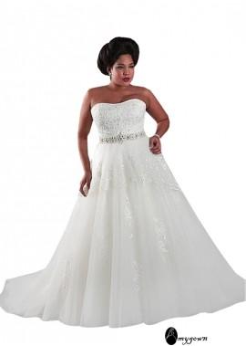 AmyGown Plus Size Wedding Dress T801525325517
