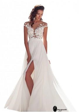 AmyGown Sparkly Wedding Dress T801525317594