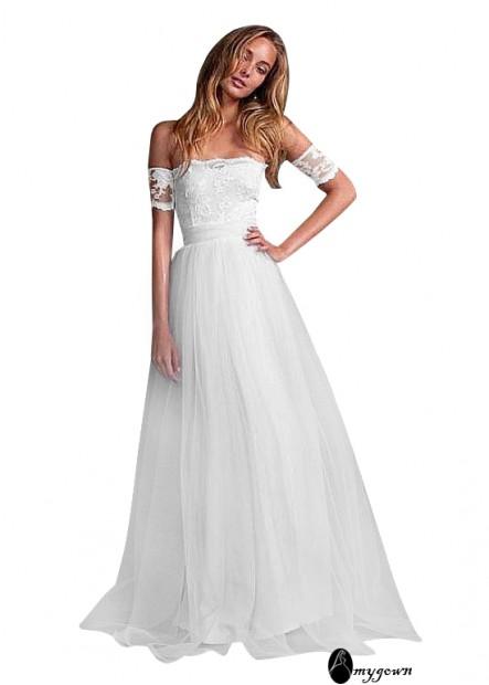 AmyGown Beach Wedding Dresses T801525328988