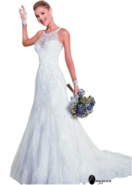 AmyGown Lace Wedding Dress T801525383417