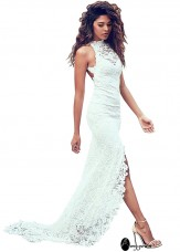 AmyGown Beach Wedding Dress T801525312985