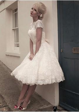 AmyGown Beach Short Wedding Ball Gowns T801525318805