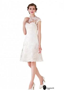AmyGown Short Wedding Dress T801525324245
