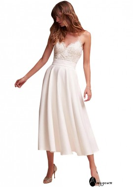 AmyGown Beach Short Wedding Dresses T801525317559