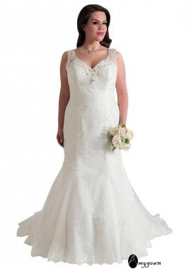 AmyGown Plus Size Wedding Dress T801525337517