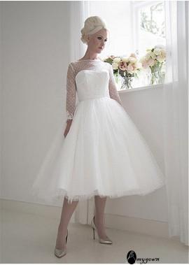 AmyGown Short Wedding Dress T801525383613
