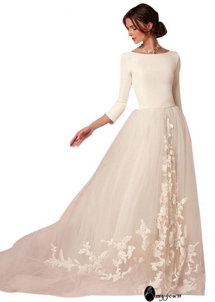 AmyGown Beach Wedding Dresses T801525317687