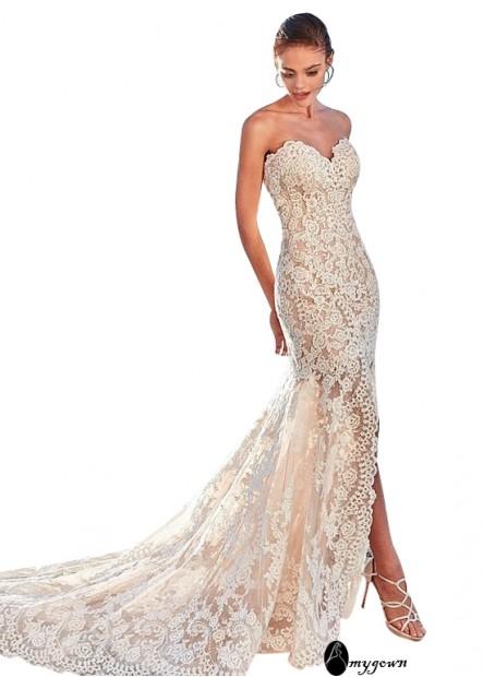 AmyGown Beach Wedding Dresses T801525317918