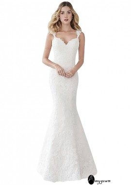 AmyGown Lace Wedding Dress T801525385377