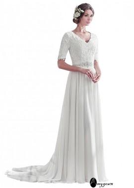 AmyGown Beach Wedding Dresses T801525317367