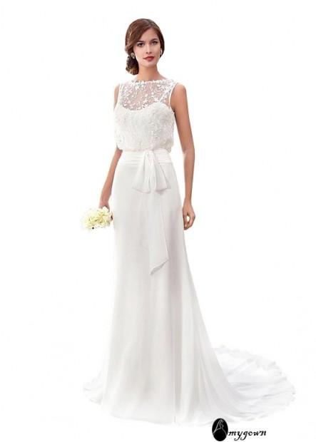 AmyGown Beach Wedding Dresses T801525321746