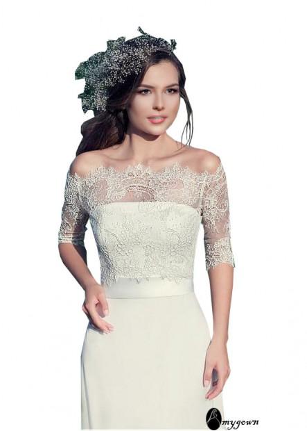 AmyGown Beach Wedding Dresses T801525318086