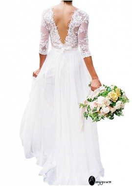AmyGown Beach Wedding Dresses T801525325023