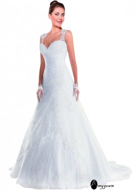 AmyGown Lace Wedding Dress T801525386964