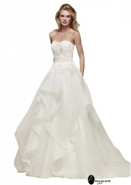 AmyGown Beach Wedding Ball Gowns T801525318190