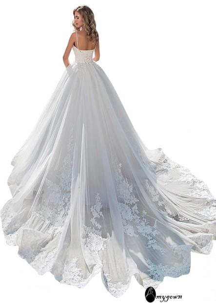 AmyGown Beach Wedding Dresses T801525325731